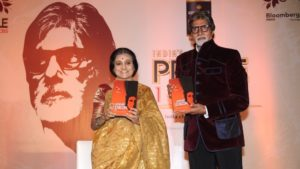 Bhawana Somaaya & Amitabh Bachchan